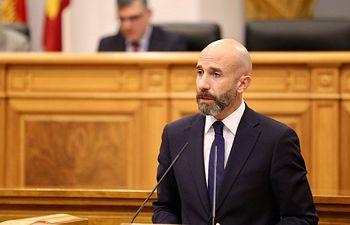 David Muñoz Zapata, diputado regional del Grupo Parlamentario Cs (GPCs).