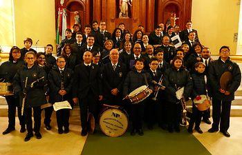 Asociación Musical Virgen de Rosario de Alatoz. Foto: Picasa