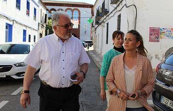 Carolina Agudo en Argamasilla de Calatrava.