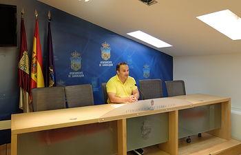 Jaime Carnicero, vicealcalde de Guadalajara.