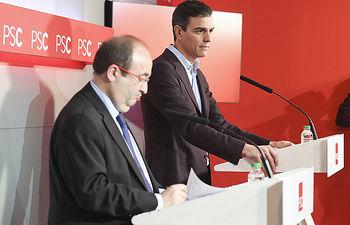 PSOE/ NOTA RUEDA PRENSA PEDRO SÁNCHEZ EN BARCELONA