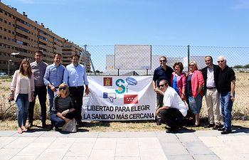 Encuentro en Seseña (Toledo) con la Plataforma en favor del Convenio Sanitario