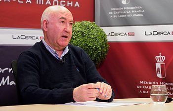 Francisco Morote, alcalde de Chinchilla. Foto: Manuel Lozano García / La Cerca