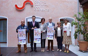 """Presentación 15ª edición del Certamen nacional de canción castellana """"Villa de Fuensalida""""."""