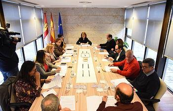 La consejera de Bienestar Social, Aurelia Sánchez, mantiene una reunión con la Mesa del Tercer Sector de Castilla-La Mancha. (Fotos: José Ramón Márquez // JCCM)