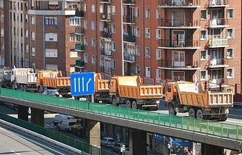 Transportistas. Foto: EFE