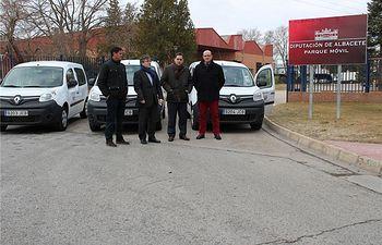 El Parque Móvil de la Diputación renueva su flota de vehículos