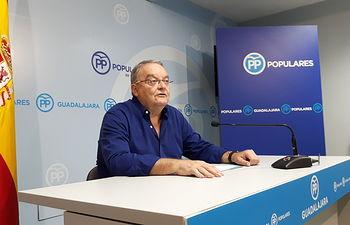 Juan Antonio De las Heras, en rueda de prensa.