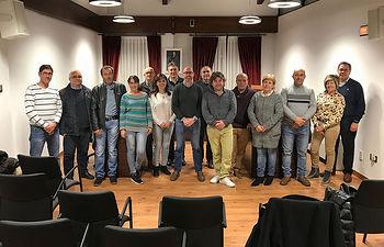 Imagen de la comisión celebrada en Puerto Lápice.