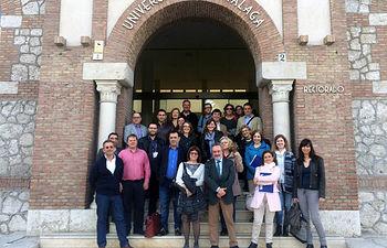 Participantes en la reunión de Málaga.