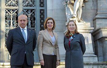"""Firmado el Convenio para la creación de la Comisión Interadministrativa del """"IV Centenario de la Segunda Parte de El Quijote"""""""