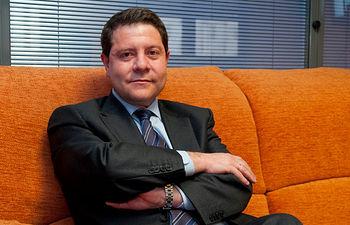 Emiliano García-Page, secretario general del PSOE en Castilla-La Mancha.
