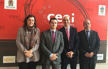 Reunión de los directores de los CEEIs de Castilla-La Mancha