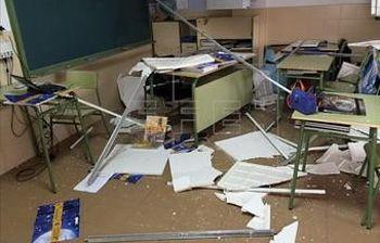Foto del colegio de El Casar. (EFE)