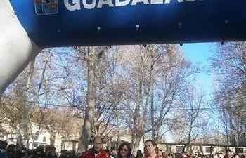 La alcadesa Adela de la Torre y el diputado de Deportes Javier del Río dieron la salida