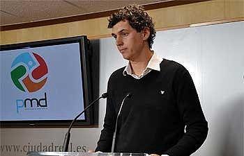 Concejal de Deportes, César Manrique