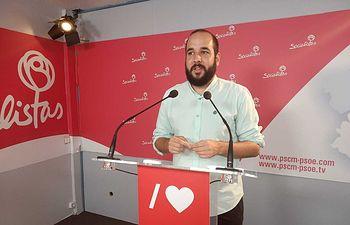 Miguel González Caballero, diputado nacional del Partido Socialista por la provincia de Ciudad Real.