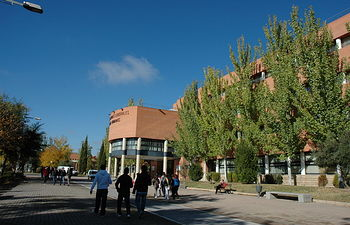 Facultad de Derecho en el campus de Albacete