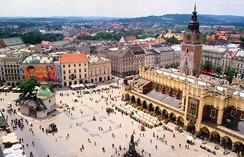 Cracovia, capital del voivodato de Pequeña Polonia. Foto: Wikipedia.