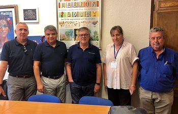 Reunión entre Renfe y el Ayuntamiento de Hellín.
