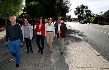 Margarita Torres Visita Finalizacion Obras TravesiaCM4058 1. Foto: JCCM.