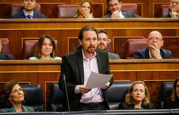 Vicepresidente de Derechos Sociales y Agenda 2030, Pablo Iglesias.