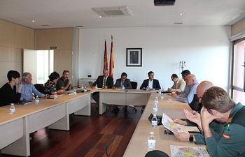 Reunión Comité Asesor Infocam provincia de Toledo.