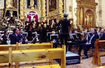 Concierto Banda y Novi Atienza abril 2019