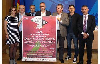 """Alberto González. """"La Diputación siempre ha sido un aliado leal y fiel del Festival de los Sentidos de La Roda""""."""