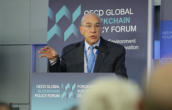 Angel Gurría, Secretary-General of the OECD.     Photo: OECD/Hervé Cortinat.