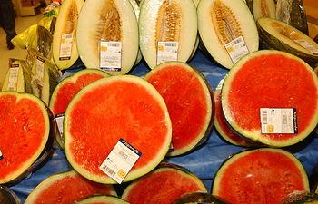 El melón y la sandía son las frutas frescas de verano preferidas por los españoles. Foto: Ministerio de Agricultura, Alimentación y Medio Ambiente