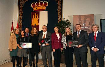 Presidenta Cospedal entrega Distintivo Excelencia en Igualdad a empresas región. Foto: JCCM.