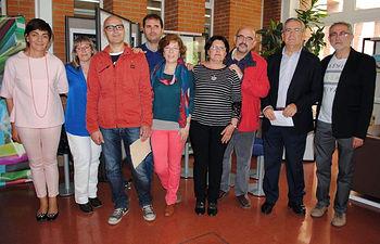 Ganadores y representantes de la UCLM