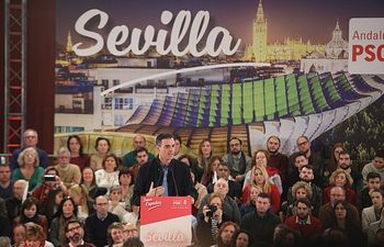 Pedro Sánchez en Sevilla.