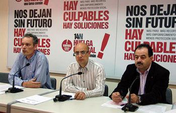 Luis Molina, Llorenç Serrano y José Fuentes