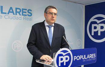 Miguel Ángel Rodríguez, vicesecretario de Organización del PP de Ciudad Real.