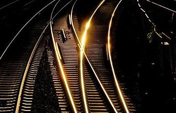 Vías de tren. Archivo.