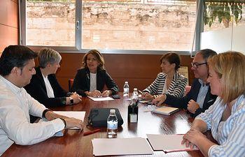 Reunión de la secretaria general de FeSP UGT CLM con la consejera de Bienestar SociaL.