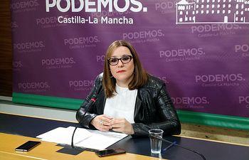 María Díaz, diputada de PODEMOS-CLM.