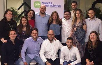 NNGG de Guadalajara, en el Congreso  Nacional celebrado en Sevilla.