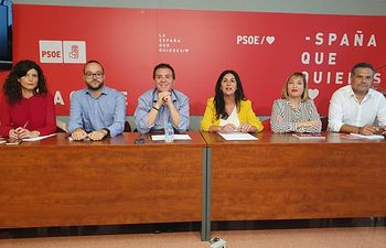 Ejecutiva Provincial PSOE Albacete.