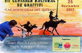 VII Certamen Nacional de Graffiti de Argamasilla de Alba