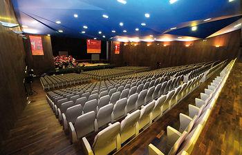 """Castilla-La Mancha participó en """"FITUR Congresos"""", de la mano  del Palacio de Congresos y Exposiciones de Albacete. En la imagen, el salón principal de esta infraestructura manchega."""