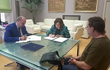 Firmado el Convenio con la Asociación de la Prensa de Guadalajara