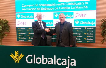 Convenio entre Globalcaja y la Asociación de Enólogos de CLM