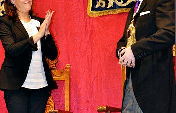 Alcaldesa acto Magno Pregón