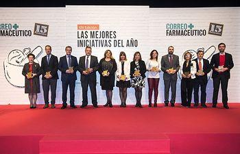 La Consejería de Sanidad y el Consejo Autonómico de Farmacéuticos de Castilla-La Mancha COFCAM reciben un premio nacional por poner en marcha la Red de Farmacias Centinela