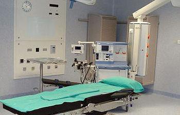 En la imagen el nuevo quirófano de cirugía mayor ambulatoria del Hospital de Manzanares (Ciudad Real)