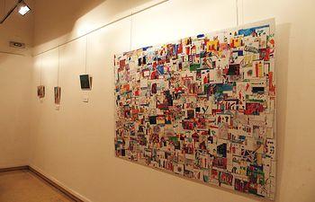 Exposición Concurso Dibujo Abstracto.