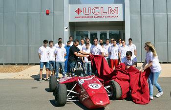 Presentación del monoplaza FS UCLM Racing Team 02.